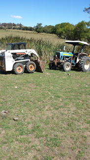 Ford tractor with pump Ngunnawal Gungahlin Area Preview