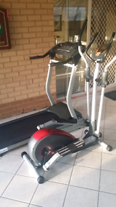 Treadmill and cross trainer for sale