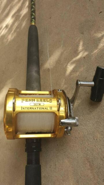 Penn Int II 30TW LBG combo | Fishing | Gumtree Australia