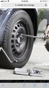 Mobile Cheapest tire changing kanata nepean
