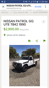 WANTED :Nissan Patrol Ute Whyalla Whyalla Area Preview