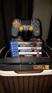 PS4 console with games Hope Valley Tea Tree Gully Area Preview