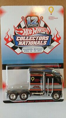 Hot Wheels 12th Annual Collectors Convention Thunder Roller Mint Carded!