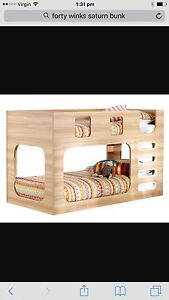Forty winks Saturn king single bunk bed Frankston South Frankston Area Preview
