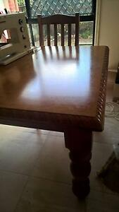 Dining Table and 6 Chairs Woombye Maroochydore Area Preview
