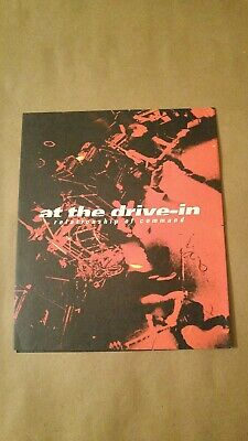 At The DRIVE IN Japanese Ad  'Relationship of Command' Booklet PUNK