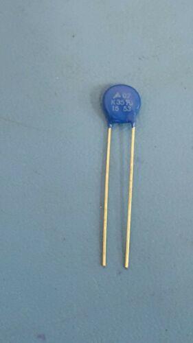 Varistors 150V 360pF 50EA