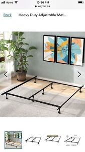 Bed frame rails - one king size - one full size -$60 each