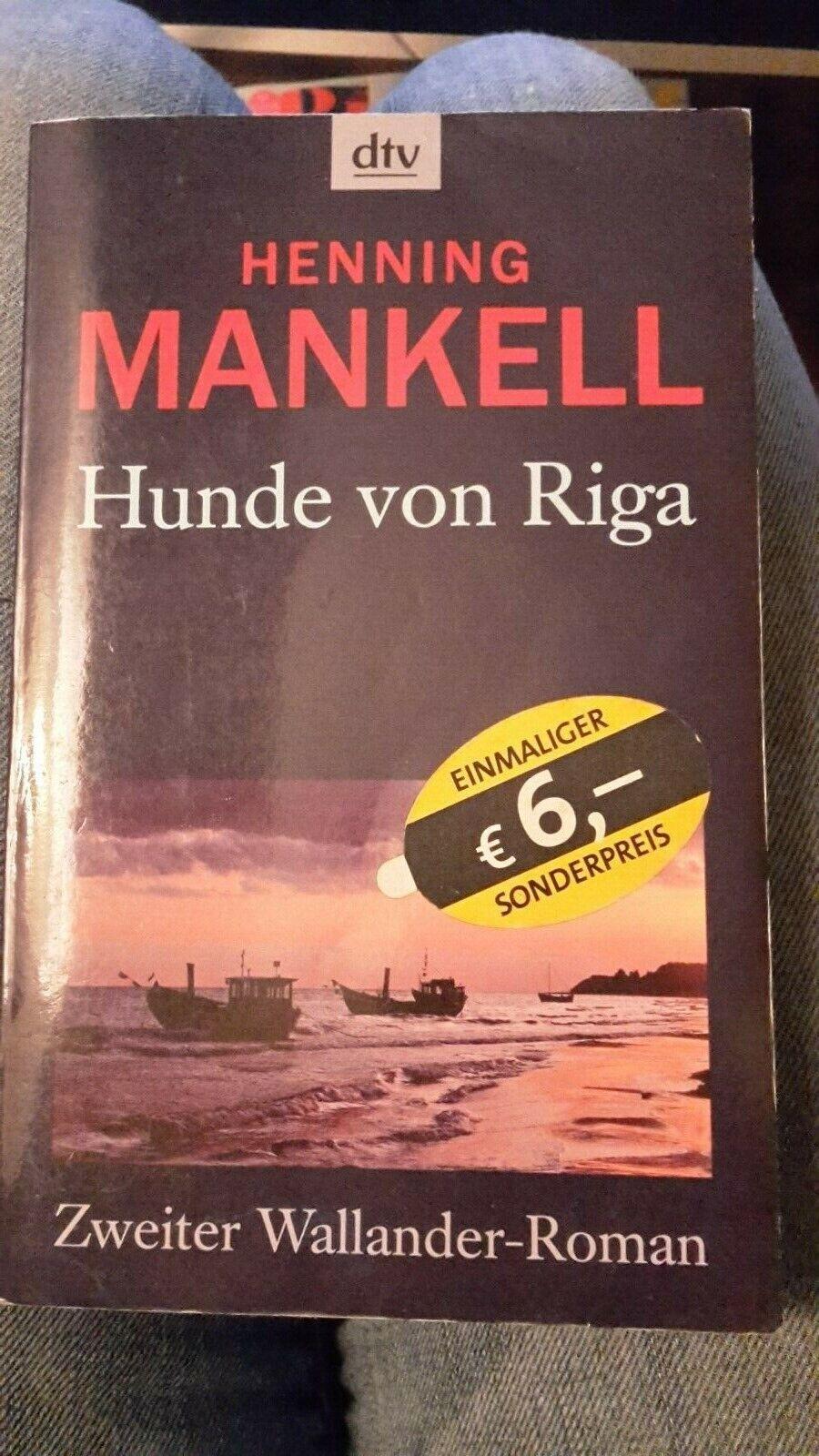 Henning Mankell Hunde von Riga (Taschenbuch)