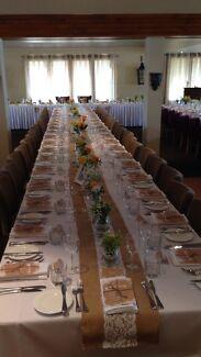Banquet table hire $18.00 each