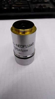 Zeiss Plan-neofluar 1.25x0.0035 - 44 03 00 Microscope Objective Lens