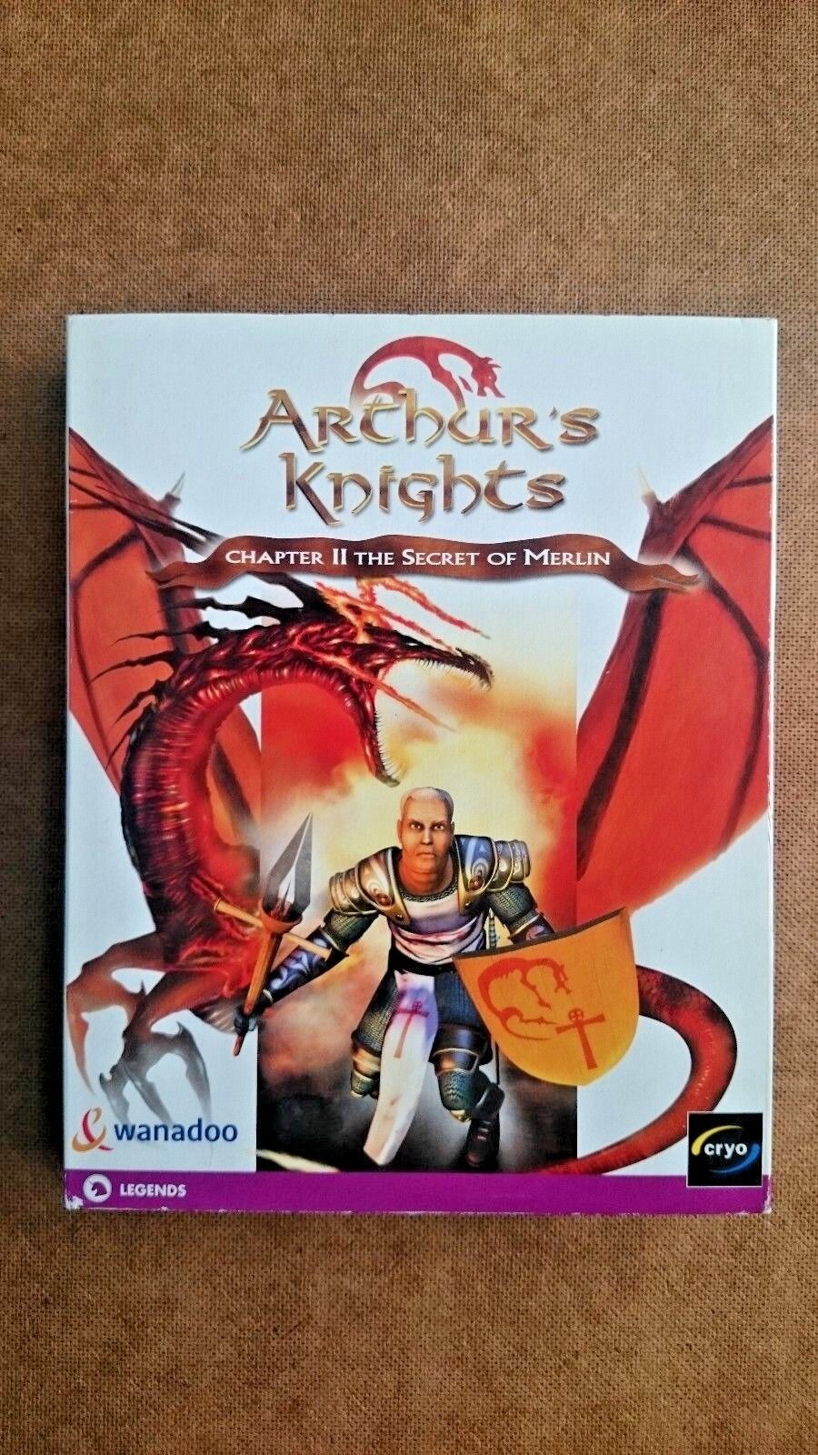 Arthurs Knights  Chapter 2 The Secret of Merlin (PC 2001) - BIG BOX  EDT