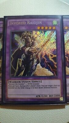 Yugioh Invoked Raidjin FUEN-EN028 Secret Rare NM/MINT