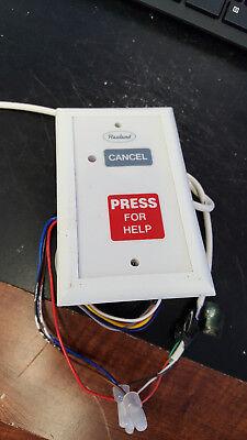 Rauland Responder Iv Pbs113 K Txb099 Push For Help Nurse Call Station  Red