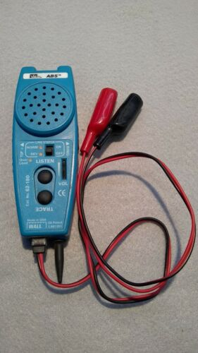 IDEAL ABS Tone Tracer #62-180 w/ Clamp Leads