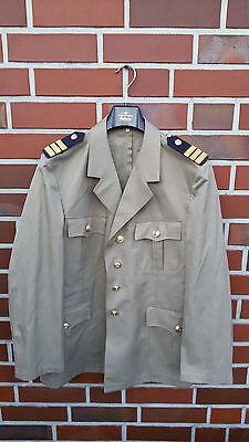 Bundeswehr Marine Sakko Gr.54 TOP Bw Jacke Uniform Kostüm Kapitän Offizier Q7
