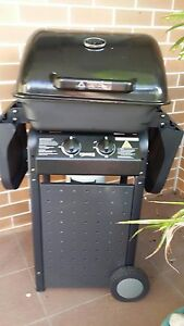 2 burner Billabong with trolley plate & grill BBQ - Used once Yagoona Bankstown Area Preview
