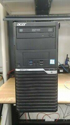 Acer Veriton M4640g Tower i7-6700 3.40GHz 16GB RAM 2TB HDD Windows 10 Pro c