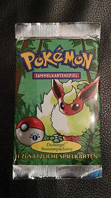 Pokemon-Sammelkarten Booster Dschungel 1. Edition Deutsch *ungeöffnet*