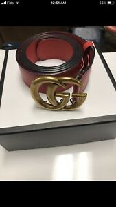 Gucci Marmont belt for men.
