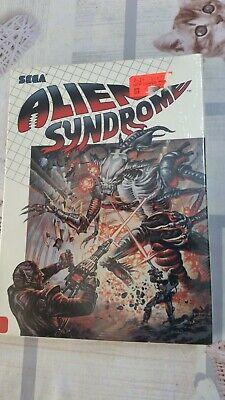 Alien Syndrome para commodore 64/128 Sega, nuevo y precintado Disk