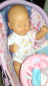 Baby born doll and accessories Mount Warren Park Logan Area Preview