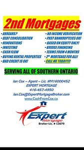 2nd MORTGAGES FOR ANY PURPOSE!!!