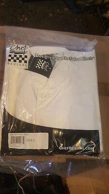 Chef Revival Tech Coat White - Small - Item J034-s
