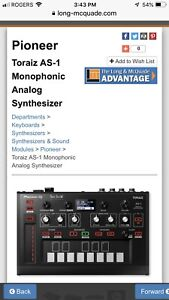 Pioneer AS-1  synthesizer