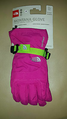 North Face Girls Montana Glove-fusion Pink