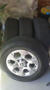 """Genuine Holden colorado  17""""wheels and tyres Blue Haven Wyong Area Preview"""