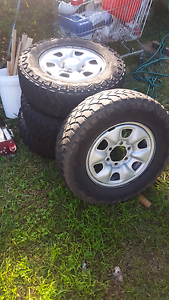 toyota hilux rims & tyers Liverpool Liverpool Area Preview