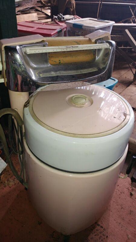 Vintage Kenmore Pink Sears Wringer Washer