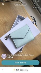 Dior Bifold Wallet with Coin Pouch