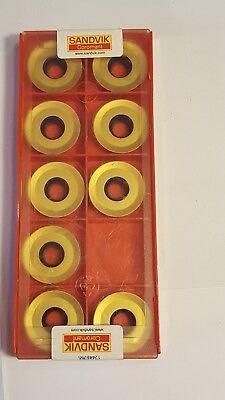 Sandvik Lathe Turning Insert - Round - R300-2570e-ml 2030 - 9x