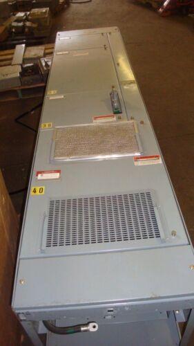 ALLEN BRADLEY Motor Control Center 2100  Section Disconnect Box 600 VAC 3 PHASE