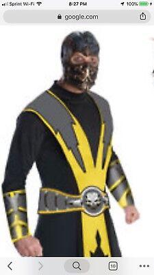 Scorpian Costume (Mortal Kombat Scorpian Costume Man)