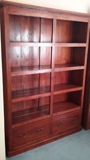 Balinense wood bookcase  Parkwood Canning Area Preview