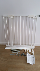 Baby safety gate with extensions- ikea brand Oxley Brisbane South West Preview