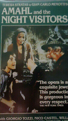 Amahl and the Night Visitors - Gian-Carlo Menotti (1986 Hardcase VHS)