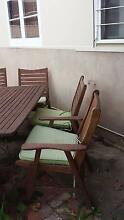 Outdoor table and chairs Flinders Park Charles Sturt Area Preview