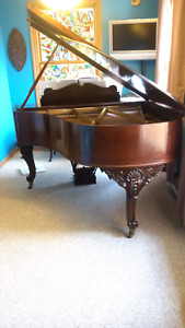 1912 Mason Risch baby grand piano. ALL OFFERS WILL BE CONSIDERED