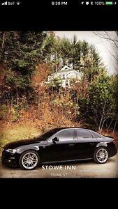 2014 Audi A4 SLine manual