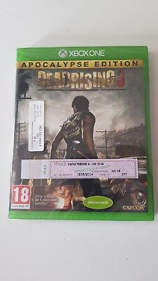 * XBOX ONE NEW SEALED Game * DEAD RISING 3 Apocalypse Edition inc 4 DLC Por Pack