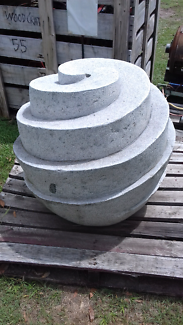 Granite water feature never used