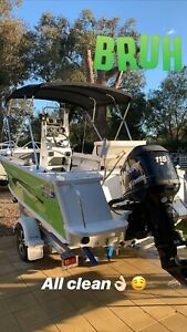 5.3m Quintrex boat