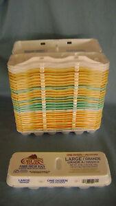 Styrofoam egg cartons poultry ebay for Styrofoam egg carton crafts