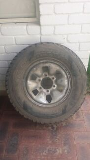 Hilux surf spare wheel and tyre Beechboro Swan Area Preview