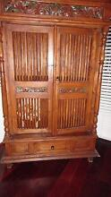 Wall unit with shelf and carving ideal for tv unit this is cheap Stirling Stirling Area Preview