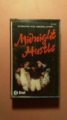 Midnight Hustle compilation Cassette Tape - Boney M, ABBA, Blondie..(K-Tel 1978)